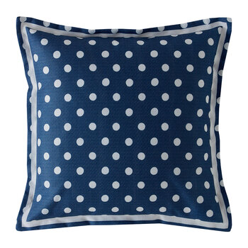 Button Spot Cushion - 40x40 - Navy