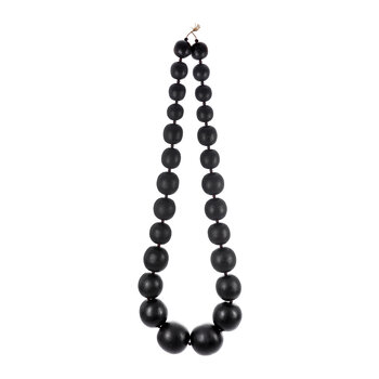 Black Large Bead Wall Hanging
