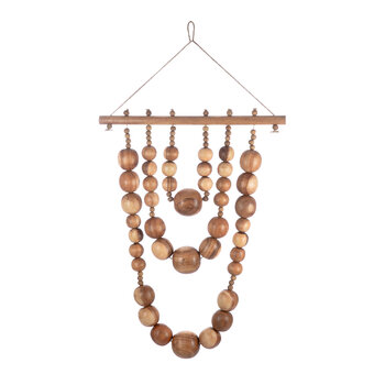 Wooden Bead Wall Hanging