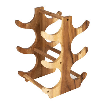 Hook Wooden Wine Rack