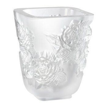 Pivoines Vase - Transparent