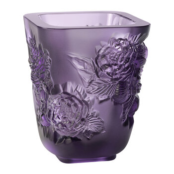 Pivoines Vase - Purple