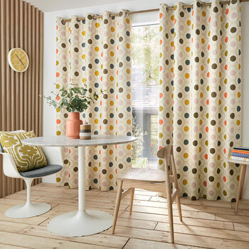 Spot Flower Curtains - Summer