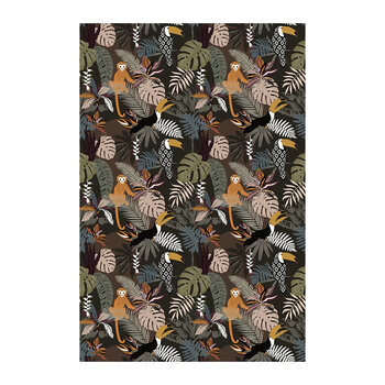 Jungle Monkey Floor Mat - 99x150cm