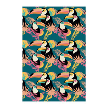 Toucan Party Floor Mat - 99x150cm