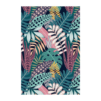 Bright Leaf Floor Mat - 99x150cm