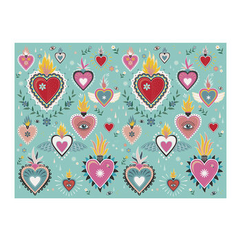 Tattoo Heart Placemat
