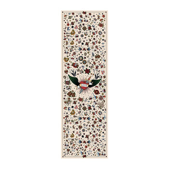 Tattoo Floor Mat - Cream - 95x300cm