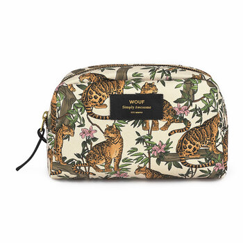 Lazy Jungle Cosmetic Bag - Large