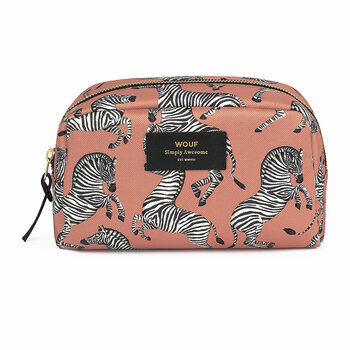 Zebra Cosmetic Bag - Large