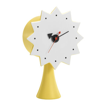 Ceramic Clock - Yellow