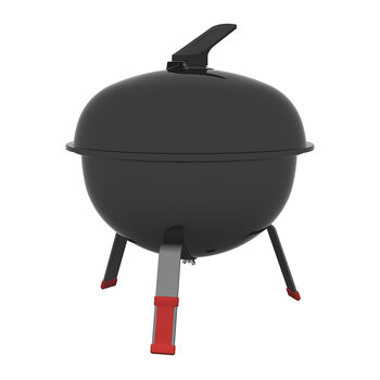 Portable Charcoal Grill with Lid