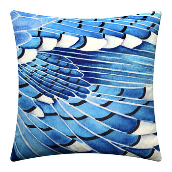 Jay Wing Cushion - Blue - 45x45cm