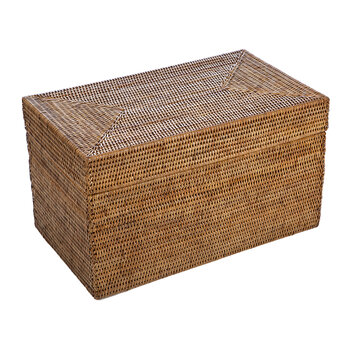 Rattan Storage Chest - Natural