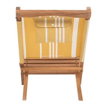 The 2-Piece Chair - Yellow Stripe