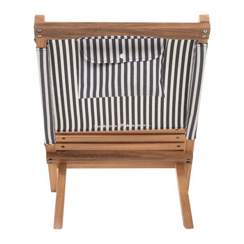 The 2-Piece Chair - Lauren's Navy Stripe