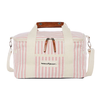 Premium Cooler Bag - Lauren's Pink Stripe