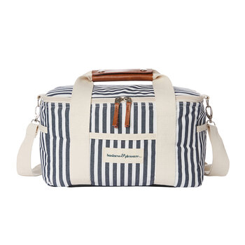 Premium Cooler Bag - Lauren's Navy Stripe