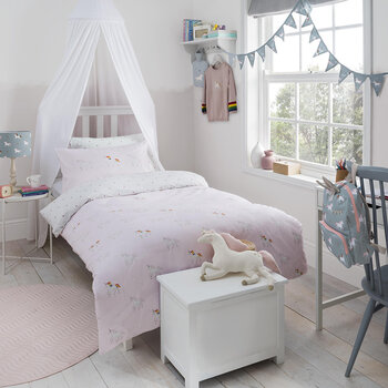 Unicorn Duvet Set - Pink Dust