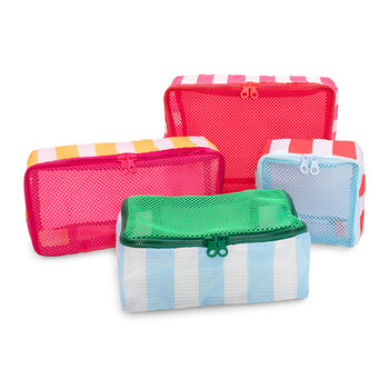 Getaway Packing Cube - Set of 4 - Swim Club Stripe