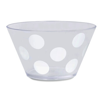 Jumbo Dots Acrylic Bowl Set