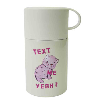 Magda Archer Text Me Yeah Flask