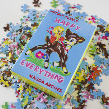 Magda Archer Happy Everything Jigsaw Puzzle