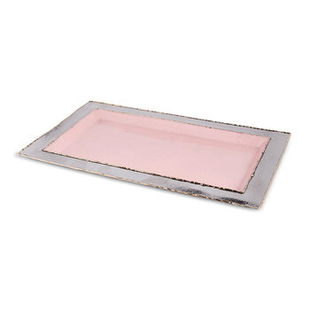 Cascade Vanity Tray - Pink Lace