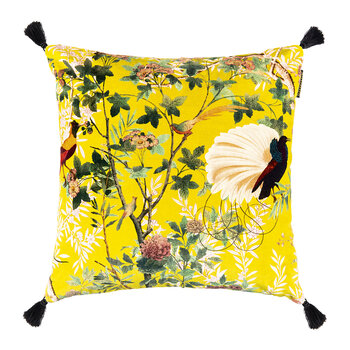 Royal Garden Velvet Cushion - 50x50cm