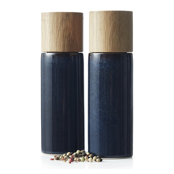 Gastro Salt and Pepper Shakers - Blue