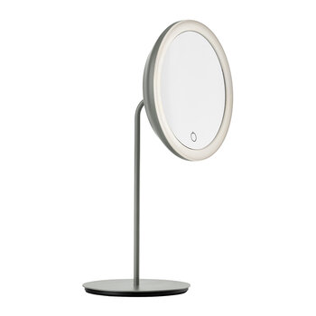 Magnifying Table Mirror - Gray