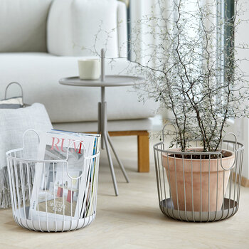 Inu Basket - Soft Gray