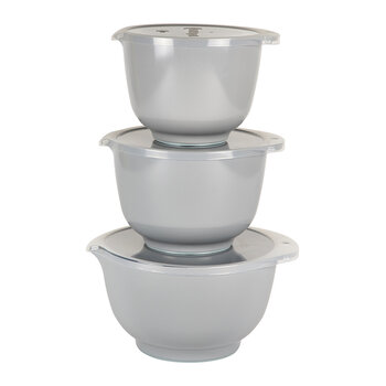 Margrethe Mixing Bowl - Set of 3 - Gray