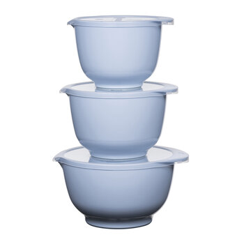 Margrethe Mixing Bowl - Set of 3 - Nordic Blue