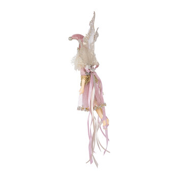 Midnight Fairy Tree Decoration - Pink