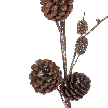 Pine Cone Branch - Natural