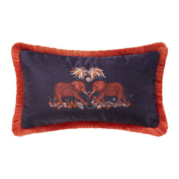 Zambezi Boudoir Cushion - Wine