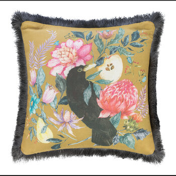 Rook Cushion - 50x50cm - Gold