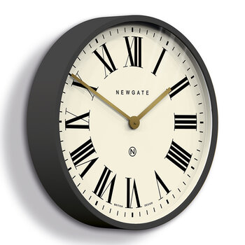 Mr Butler Wall Clock - Blizzard Gray