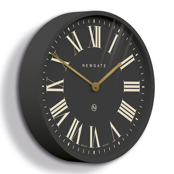 Mr Butler Wall Clock - Blizzard Grey/Grey Dial