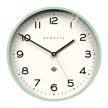 Number Three Echo Wall Clock - Neo-Mint