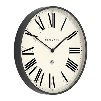Music Hall Wall Clock - Moonstone Gray