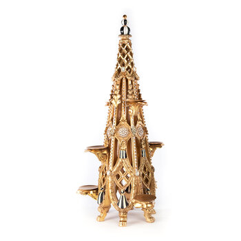 Noter Dame Votive Tree Ornament