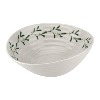 Ceramic Mistletoe Bowl
