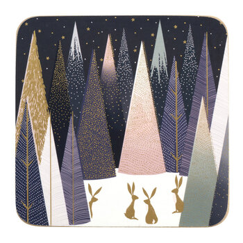 Frosted Pines Nordic Coaster - Set of 6