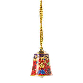 Christmas Barocco Bell Tree Decoration
