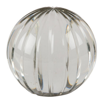 Stripe Glass Ball - Large