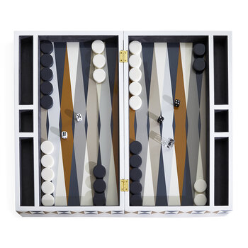 Bowtie Backgammon Set