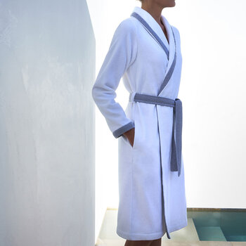 Lord Women's Bathrobe - White