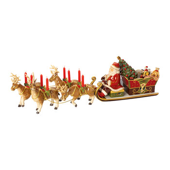 Christmas Toy's Memory Santa's Sleigh Ride Ornament